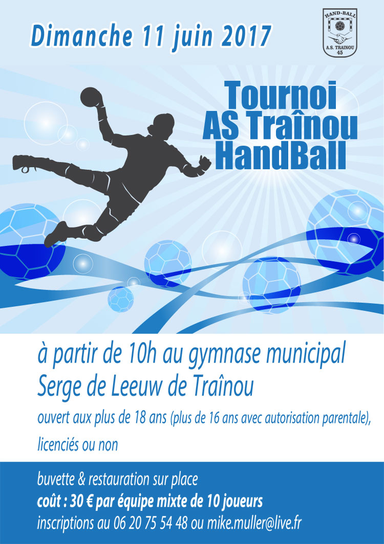 tournoi de handball de l'AS Trainou